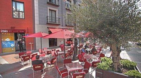 Bar & terraza hotel ele enara boutique valladolid
