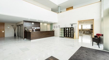 Recepción apartments ele domocenter sevilla