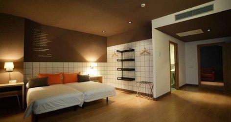 Habitaciones doble hotel ele hotelandgo arasur rivabellosa