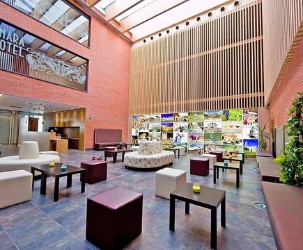 Hall & recepción hotel ele enara boutique valladolid