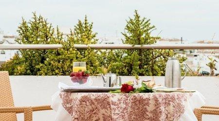Desayuno con vistas Hotel ELE Spa Medina Sidonia