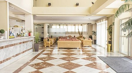 Corridoio hotel ele don ignacio san josé, almería