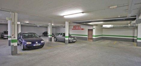 Parking propio hotel ele enara boutique valladolid