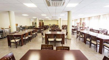 Cafetería apartments ele domocenter sevilla