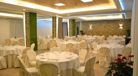 Sala eventi interni ele green park hotel pamphili roma, italia