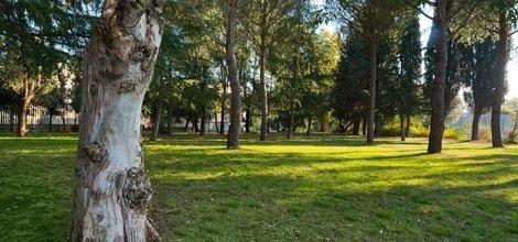 Parco privato ele green park hotel pamphili roma, italia
