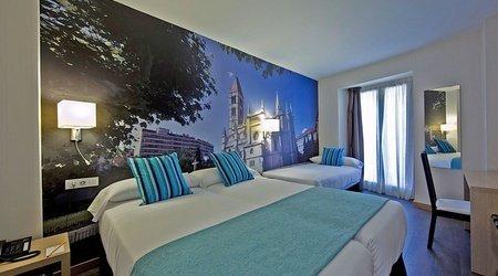 Habitación triple hotel ele enara boutique valladolid