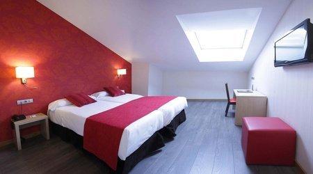 Habitación estándar hotel ele enara boutique valladolid