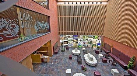 Lobby hotel ele enara boutique valladolid