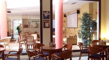 Cafetería hotel ele santa bárbara sevilla