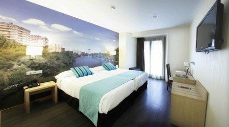 Habitación estándar con vistas hotel ele enara boutique valladolid