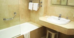 Standard single room hotel ele acueducto segovia