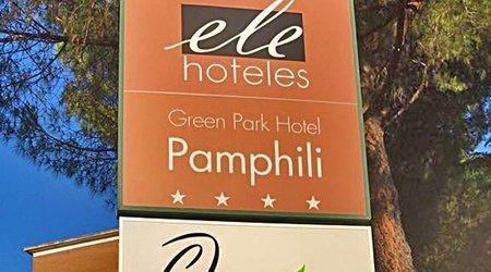 Ristorante ele green park hotel pamphili roma, italia