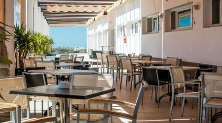 Terraza Hotel ELE Spa Medina Sidonia